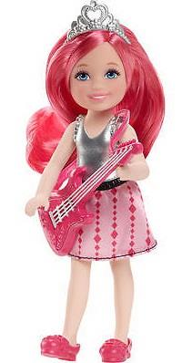Barbie Chelsea pink guitar