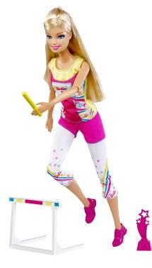 Barbie Track Champion
