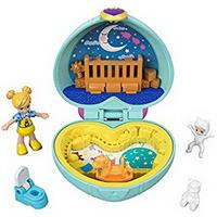 Polly Pocket Micro hjerte babyrum