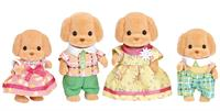 Sylvanian Families Puddelhund familie.
