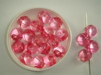 Acrylic rund trible rosa 250 g